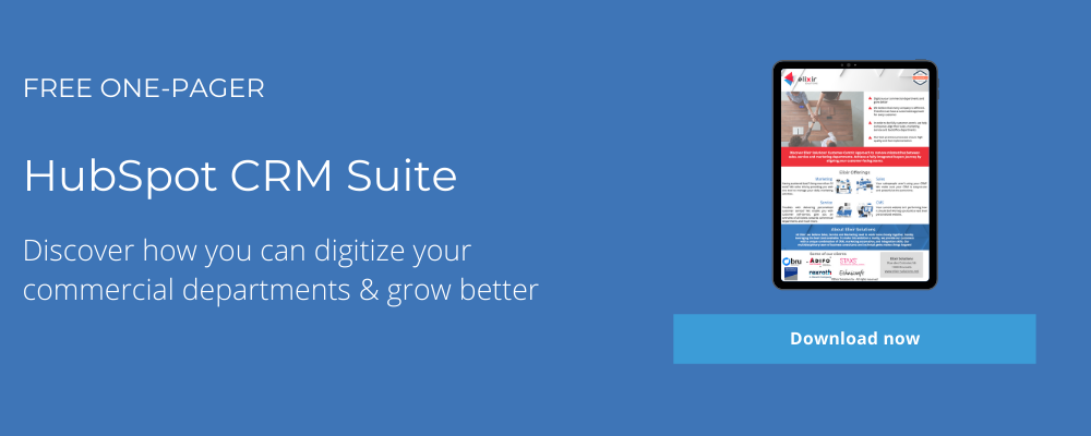 hubspot growth suite one pager